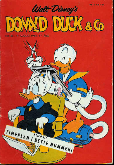 1964,nr 034, Donald Duck & Co