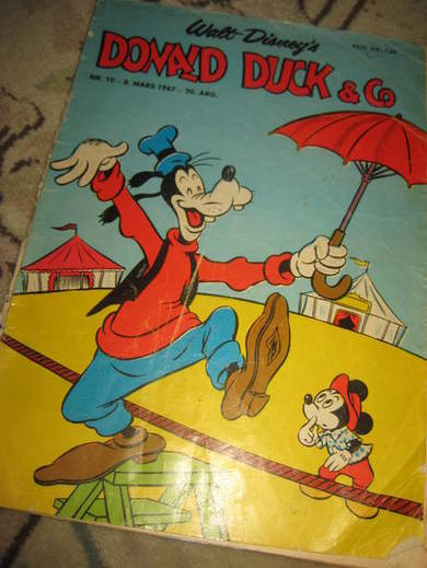 1967,nr 010, DONALD DUCK & CO.