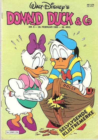 1985,nr 009, Donald Duck  & Co