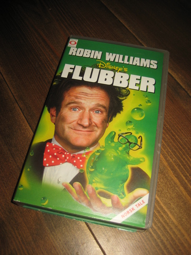 ROBBIN WILLIAMS: FLUBBER. 5 ÅR, 1997, 90 MIN.
