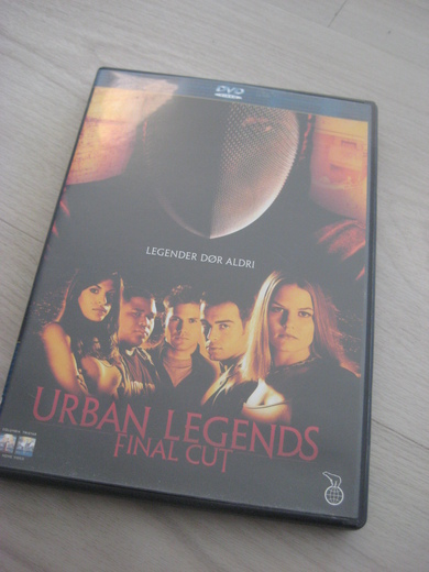 URBAN LEGENDS FINAL CUT. 2000, 93 MIN, 15 ÅR.