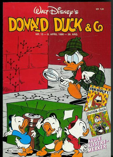 1986,nr 015,                  DONALD DUCK & CO.