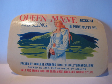 QUEEN MÆVE fra DONNEGAL CANNERS LIMITED, BALLYSHANNON, EIRE.
