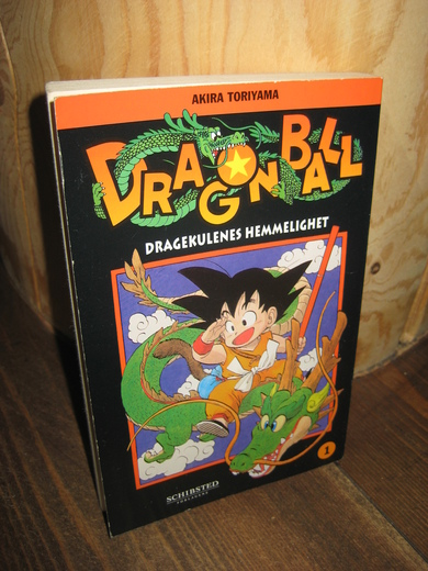 1984,nr 001, DRAGON BALL.