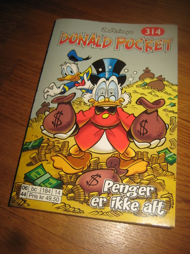 DONALD POCKET NR 314.
