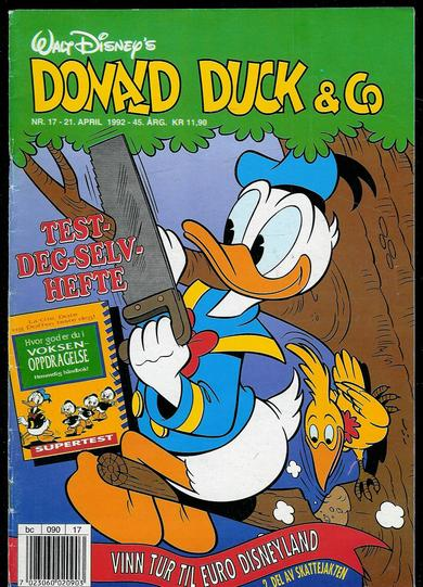 1992,nr 017, DONALD DUCK & CO