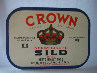 CROWN NORWEGISCHE SILD