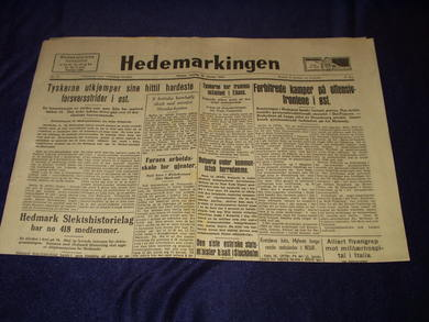 1945,nr 013, Hedemarkingen
