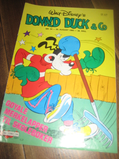 1985,nr 034, DONALD DUCK & CO