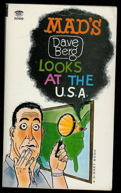 Dave Berg: MADS LOOKS AT THE USA. 1964.