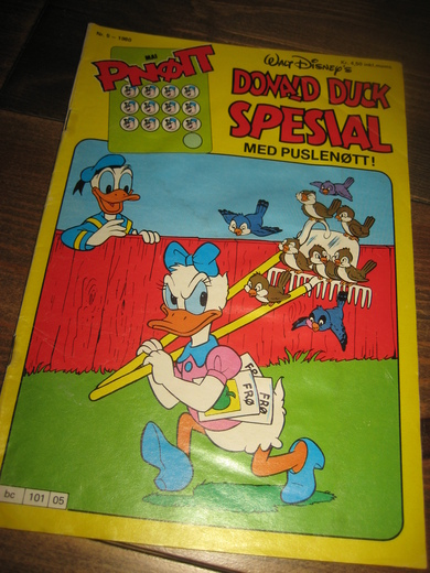 1980,nr 005, DONALD DUCK SPESIAL