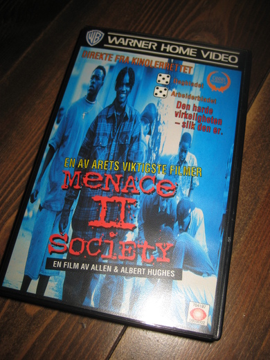 MENACE II SOCIETY. 1993, 97 MIN, 18 ÅR.