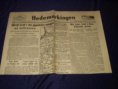 1945,nr 019, Hedemarkingen
