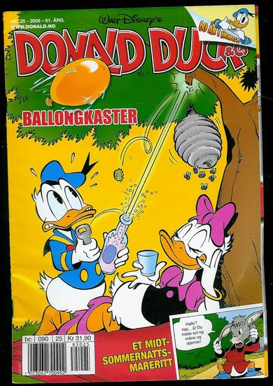 2008,nr 025,                              DONALD DUCK & CO