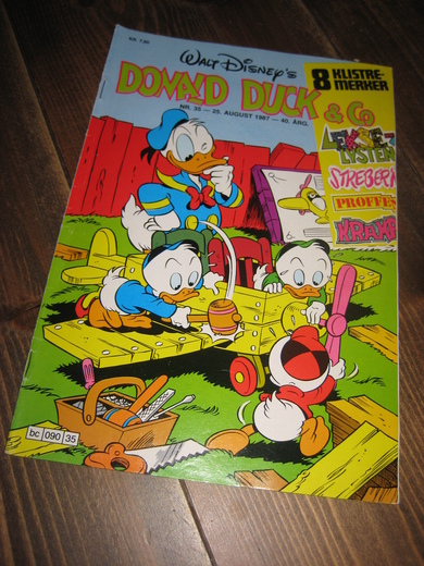1987,nr 035, DONALD DUCK & CO.