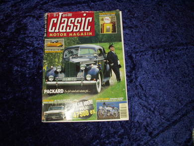 2001,nr 004, classic MOTOR MAGASIN