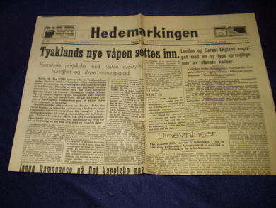 1944,nr 138, Hedemarkingen