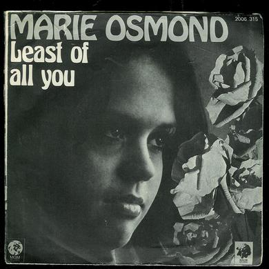 OSMOND, MARIE: LEAST OF ALL YOU, PAPER ROSES. 1973