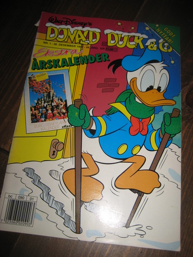 1991,nr 001, DONALD DUCK & CO
