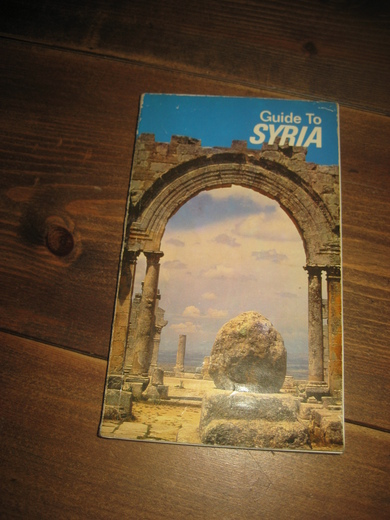 Guide To SYRIA. 1987.