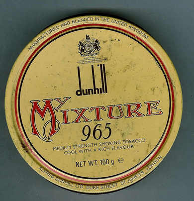 dunhill MIXTURE 965 fra Alfred Dunhill Ltd, London
