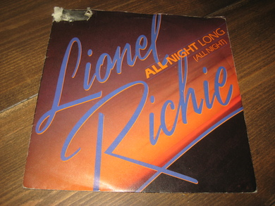RICHIE, LIONEL: ALL NIGHT LONG. 1983.