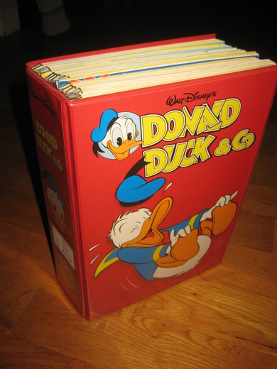 Lot i original perm, DONALD DUCK & CO, nr 20- 38, 2004.