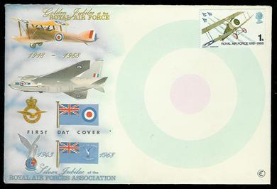 1968, Golden Jubilee ROYAL AIR FORCE