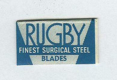 RUGBY BLUE SLOTTED BLADES