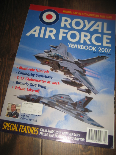 2007, ROYAL AIR FORCE. YEARBOOK.