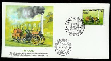 1979, THE ROCKET.  FDC