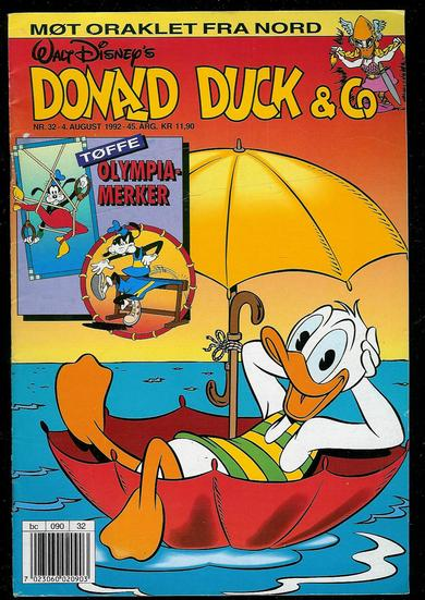 1992,nr 032, Donald Duck & Co