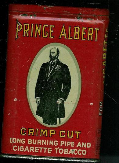 Blikkeske PRINCE ALBERT, CRIMP CUT CIGARETTE TOBACCO, USA