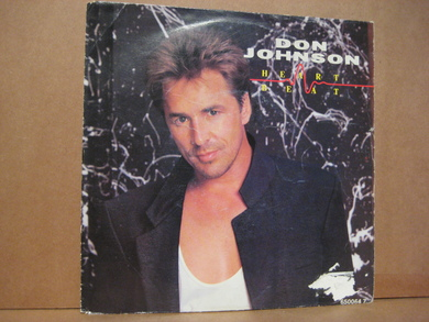 JOHNSON, DON: HEART BEAT, CAN'T TAKE YOUR MEMORY. 1986.