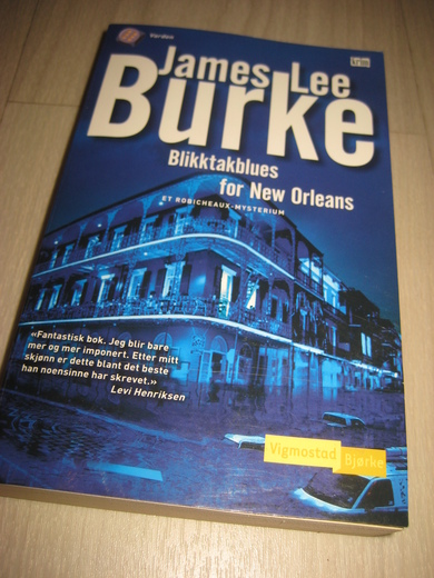 BRUKE, JAMES LEE: Blikktakblues for New Orleans. 2008.
