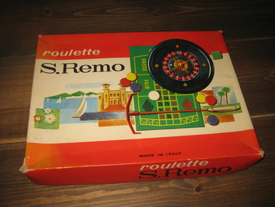 roulette S. REMO.60-70 tallet?