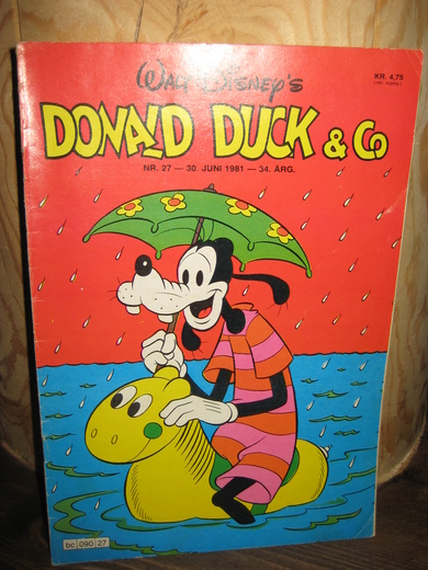 1981,nr 027,                                    DONALD DUCK & Co.