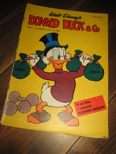 1962,nr 008, DONALD DUCK & CO.