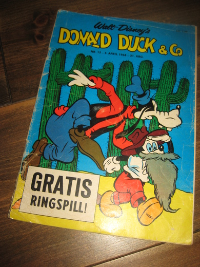 1968,nr 015, DONALD DUCK & CO