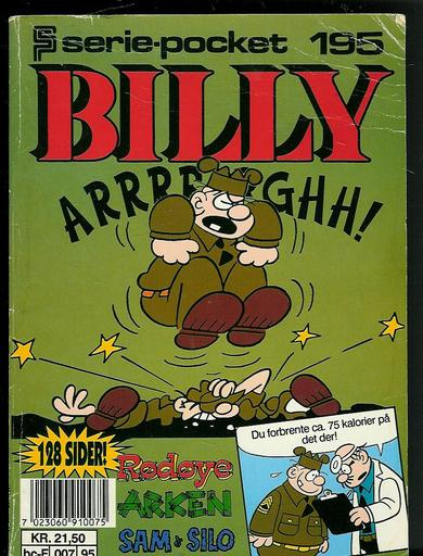1994,nr 195, BILLY serie pocket.