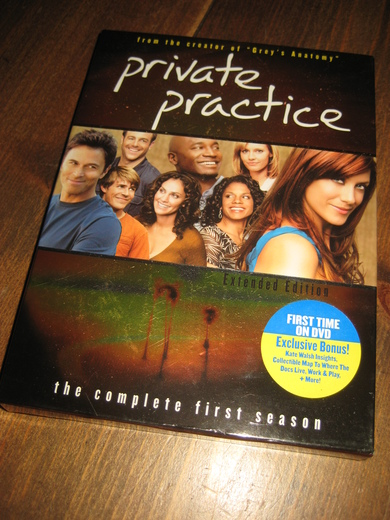 private practice. The complete first season. 2007, 6 timar, 16 min, 11 år.