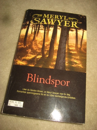 SAWYER: BLINDSPOR. 2008.