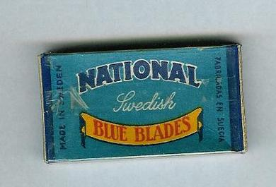 NATIONAL BLUE BLADES