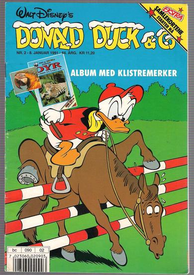 1991,nr 002,                           Donald Duck & Co
