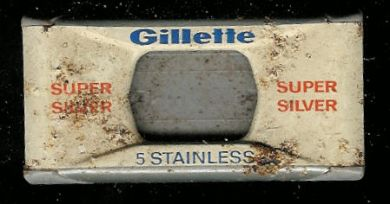 Gilette 5 stainless