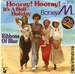 BONEY M: HOORAY HOORAY ITS A HOLI HOLIDAY, RIBBONS OF BLUE. 1979