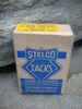 Eske med innhold, STELCO TACKS, fra The Steel Company of Canada, Limited. 50 tallet.