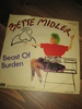 MIDLER, BETTE: Beast Of Burden. 1983.