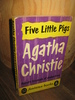 christie, agatha: Five little Pigs. 1960.
