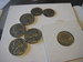 LOT, FIVE CENT, ONE DIME, 50-60 TALLET.